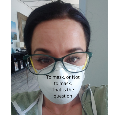 To Mask or Not To Mask? That is the Question